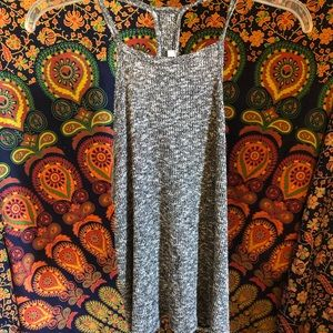 Knitted grey tank top